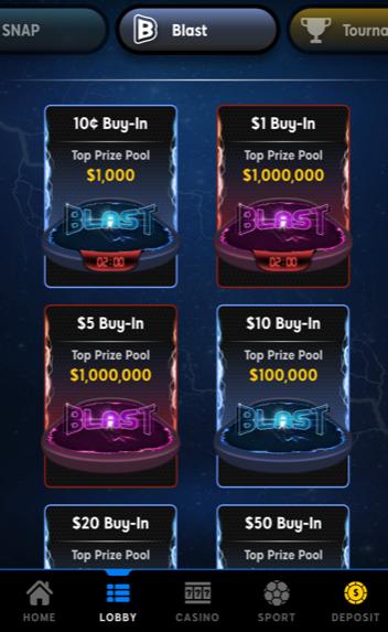 888 Poker startpagina