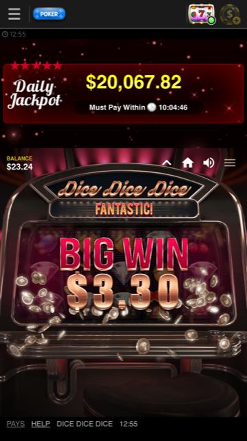 888 Poker Videoslot Win