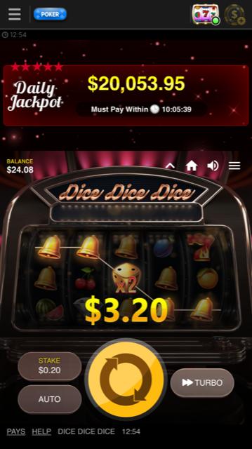 888 Poker Videoslot Big Win