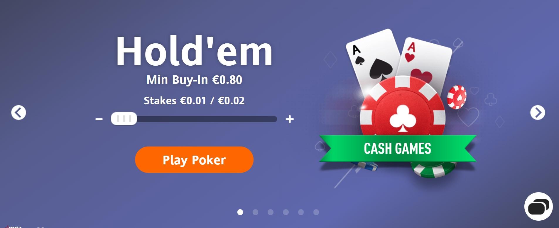 Cash Game Holdem