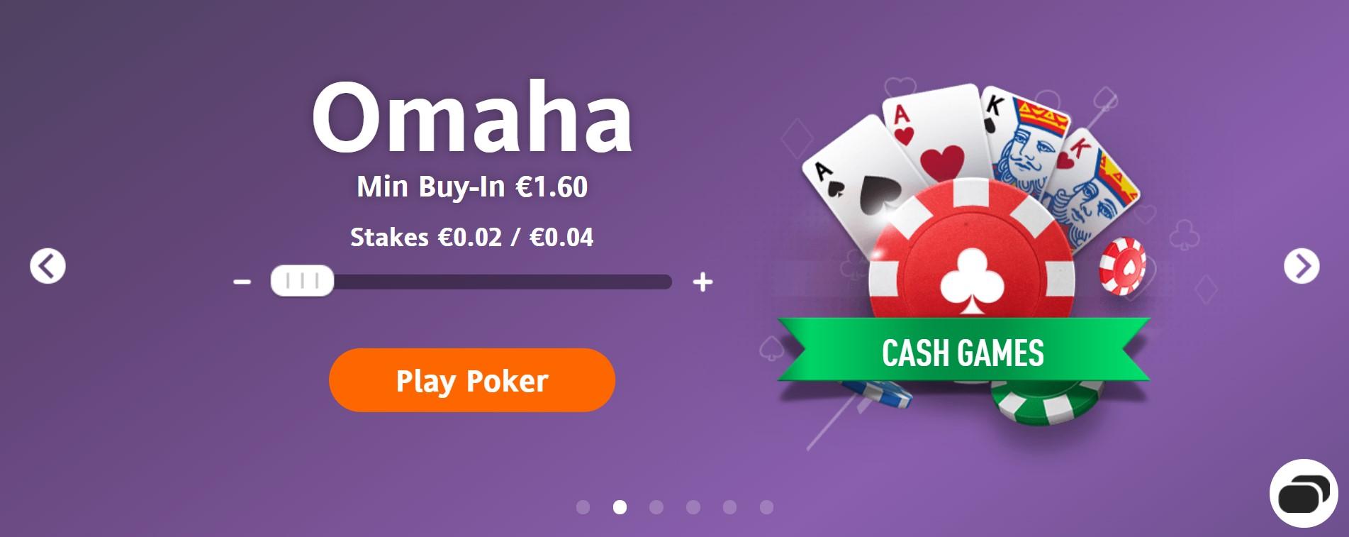 Cash Game Omaha