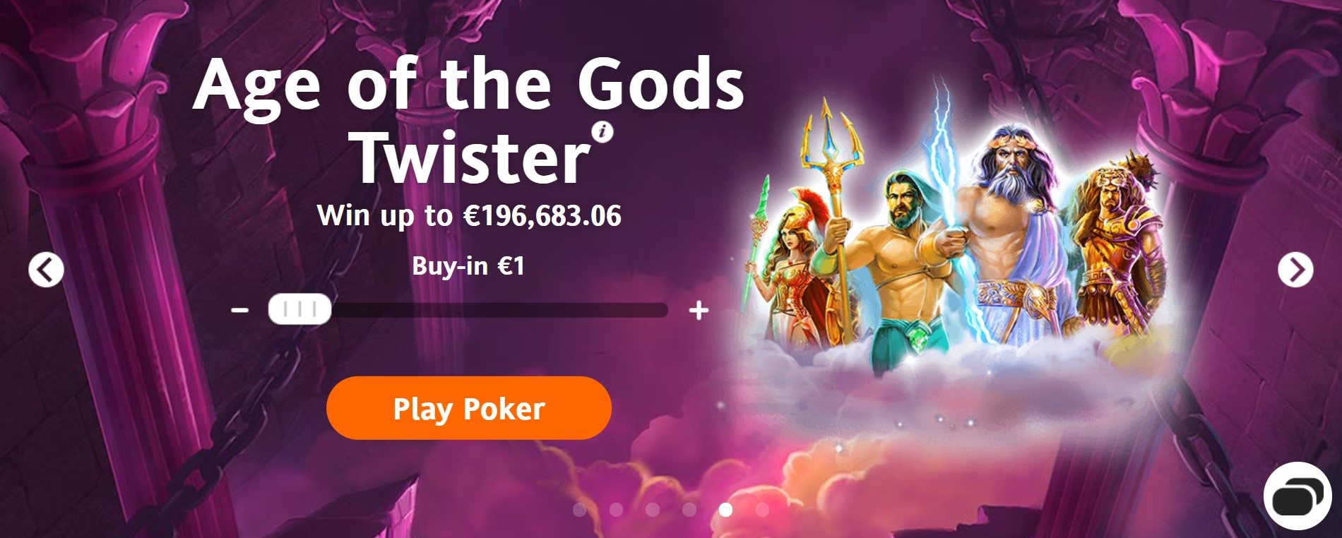 Age of the God Twister Betsson