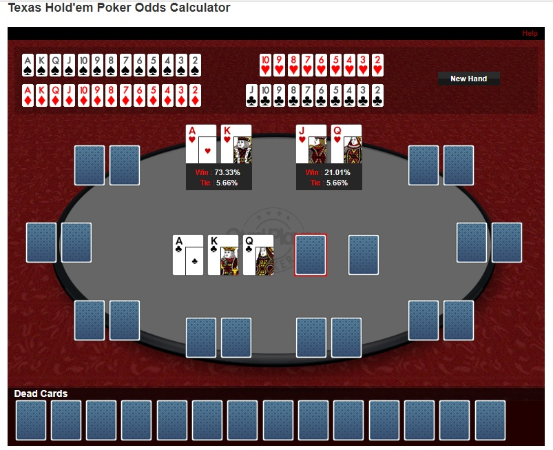 Poker Hands Calculator