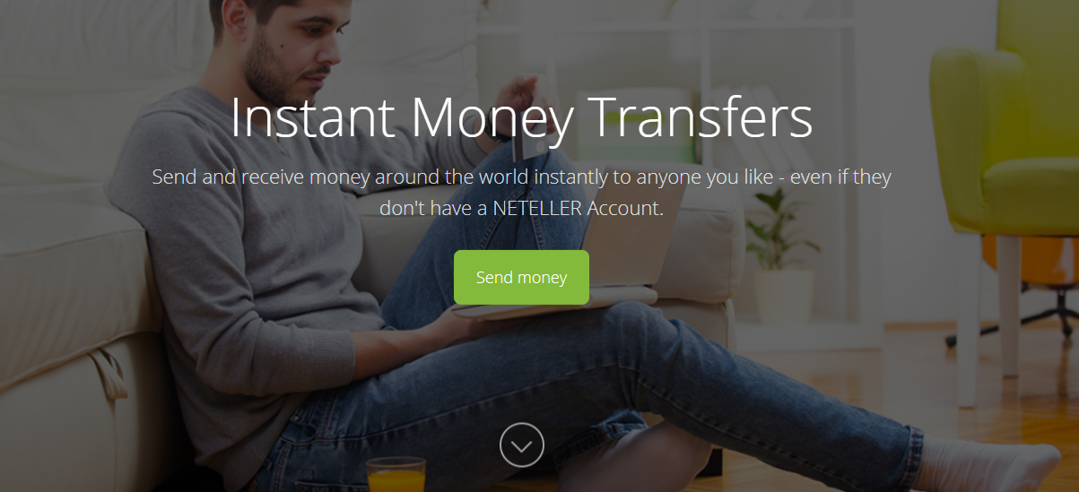 Money transfers met Neteller