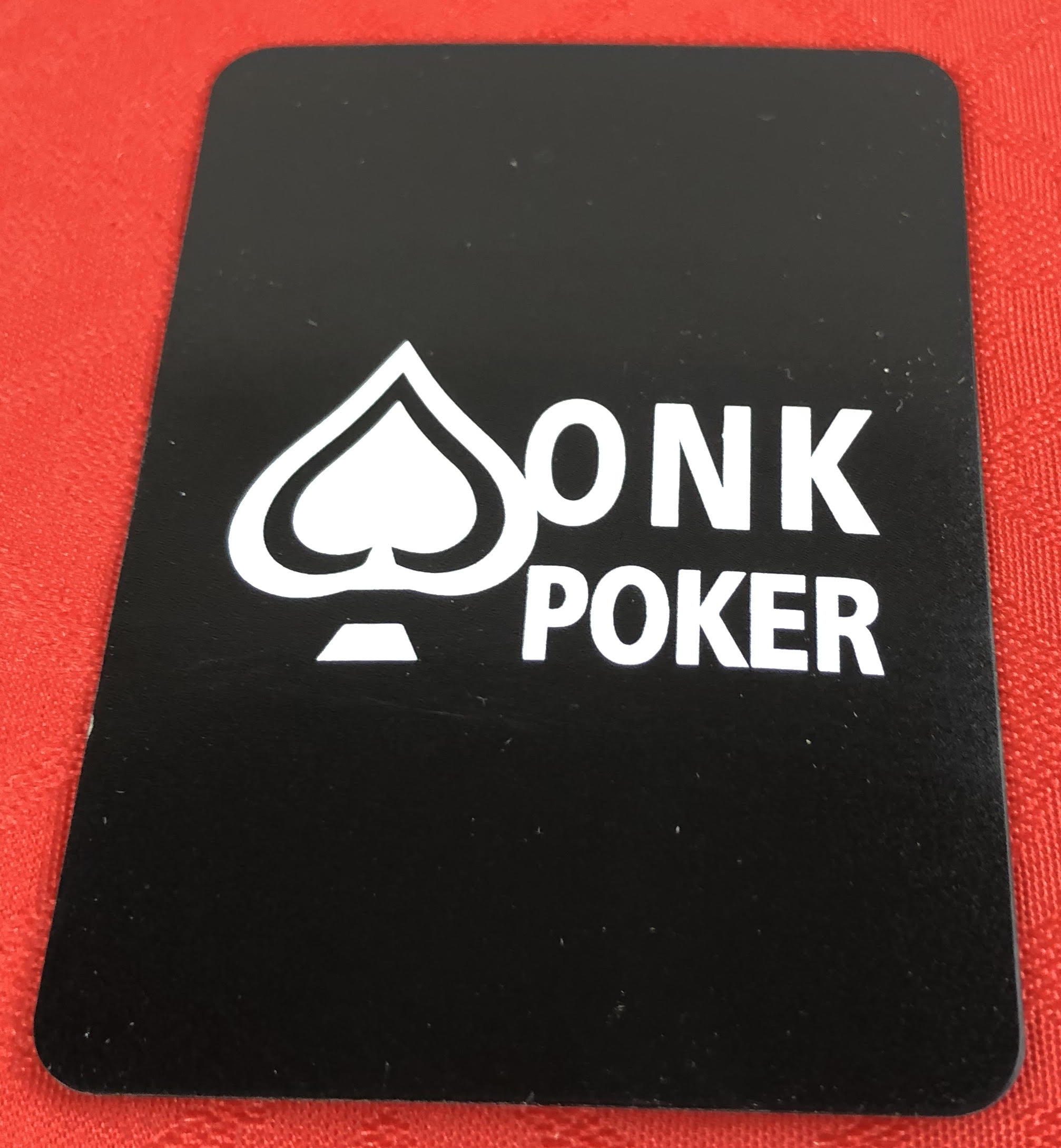 CUT CARD ONK POKER