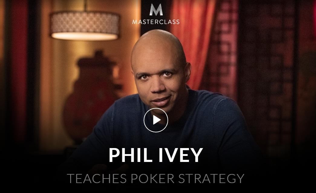 Masterclass Phil Ivey