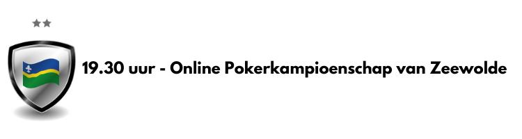 Online voorronde Zeewolde