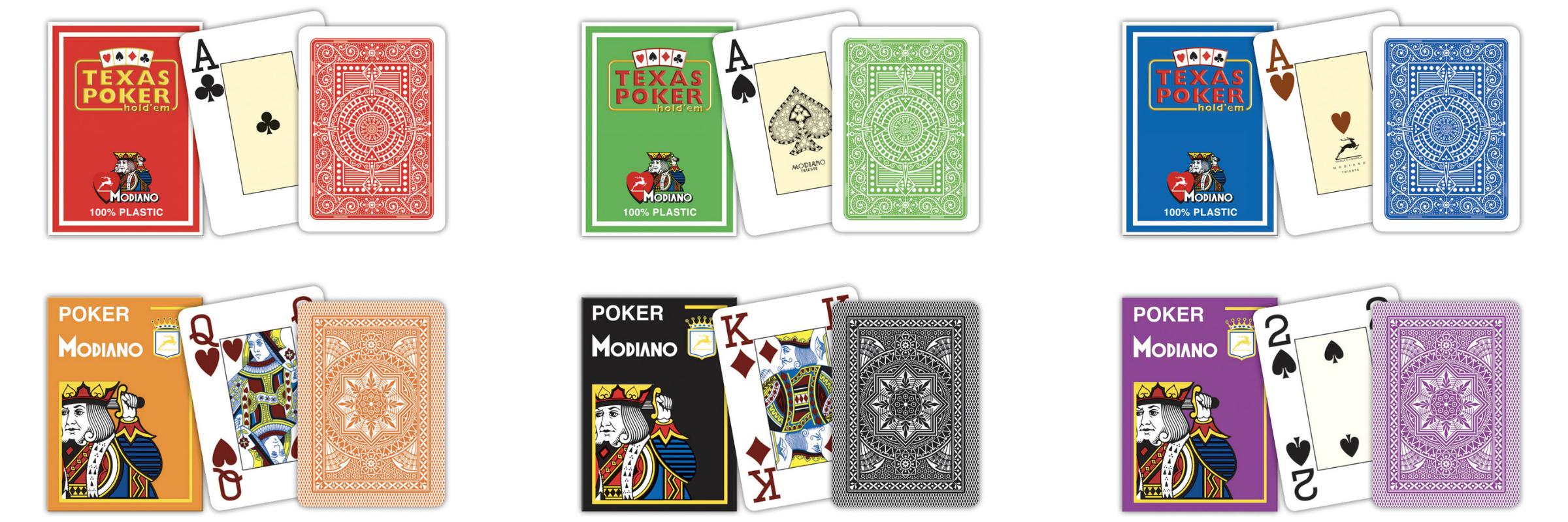 modiano kaarten