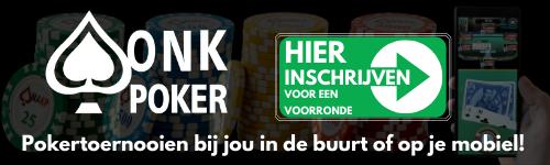 Inschrijven ONK Poker
