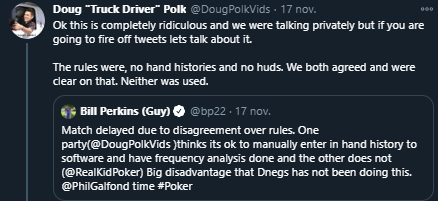 Twitterdrama Polk en Perkins