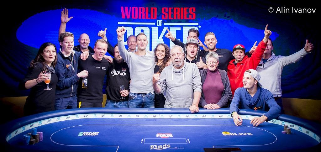 Mathijs Jonkers Final Table WSOP Europe