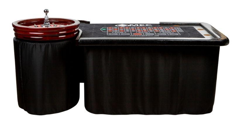 hoe ziet een roulette tafel er uit