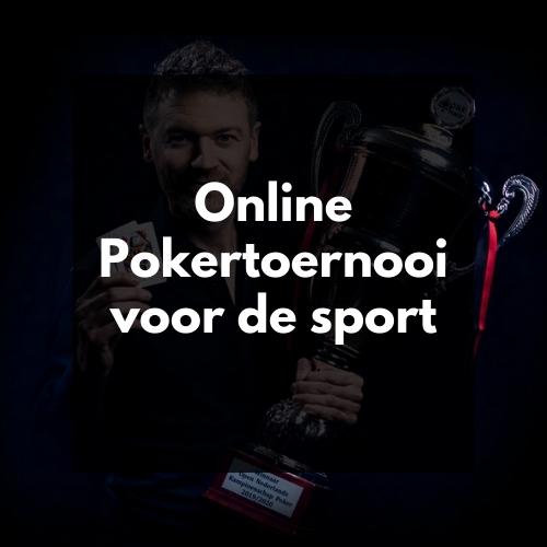 Pokertoernooi voor de Sport