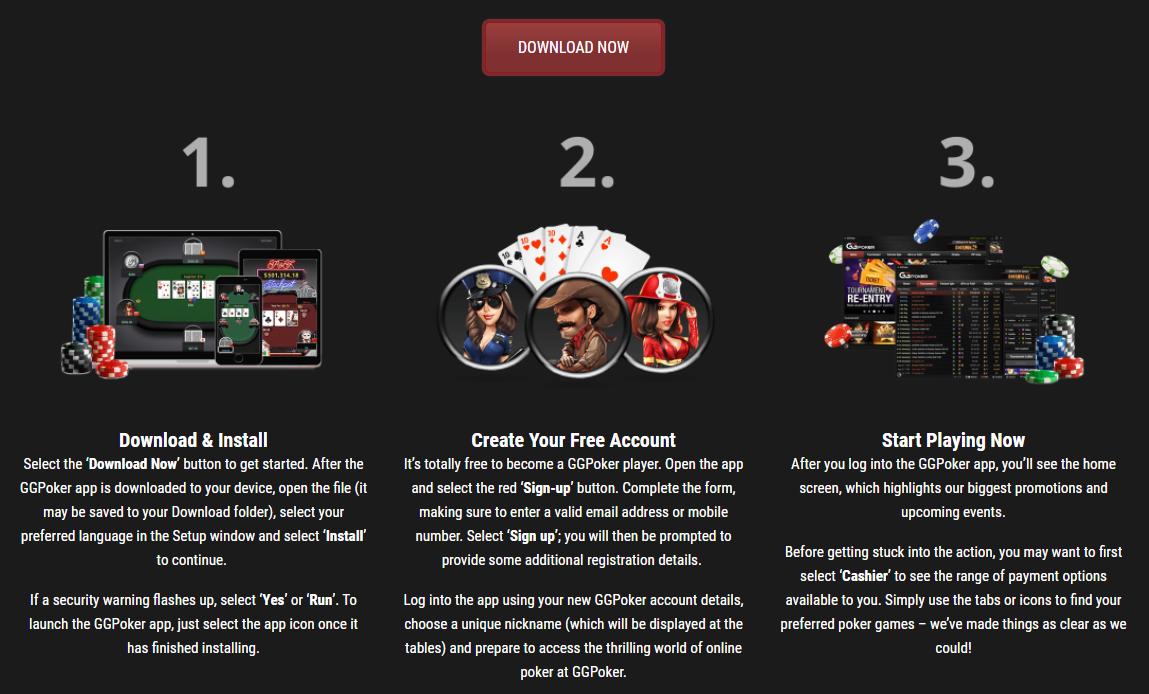 GG Poker downloaden