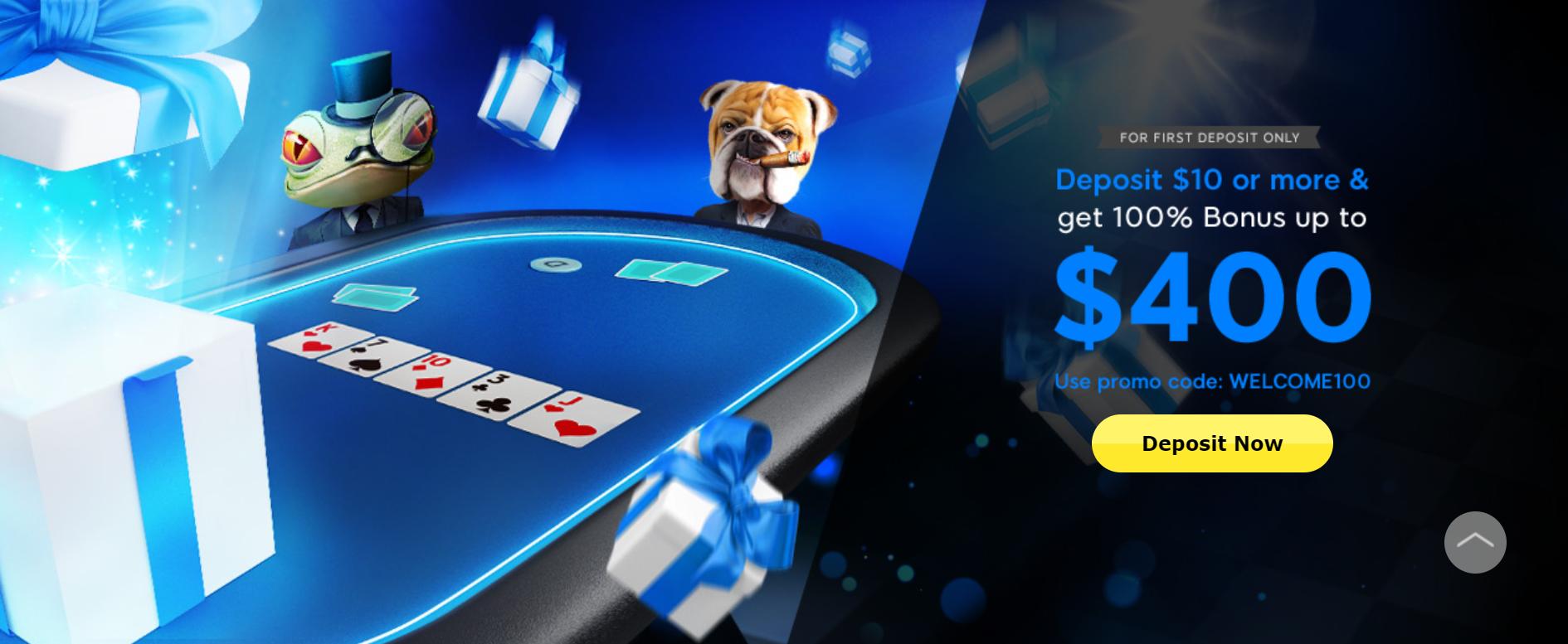 888 Poker welkomstbonus
