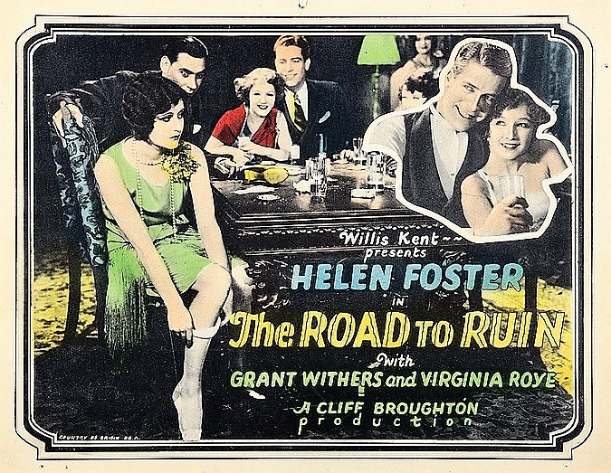 Strippoker road to ruin
