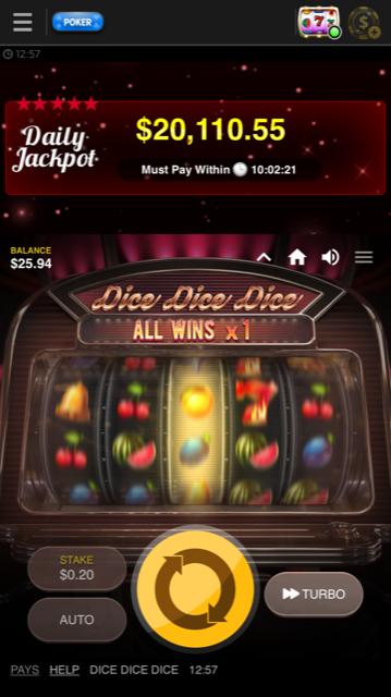 888 Poker Videoslot