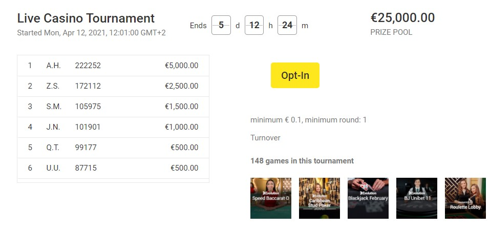 unibet-live-casino-tournament