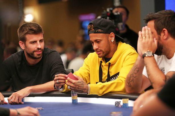 Pokerstars Neymar en Pique
