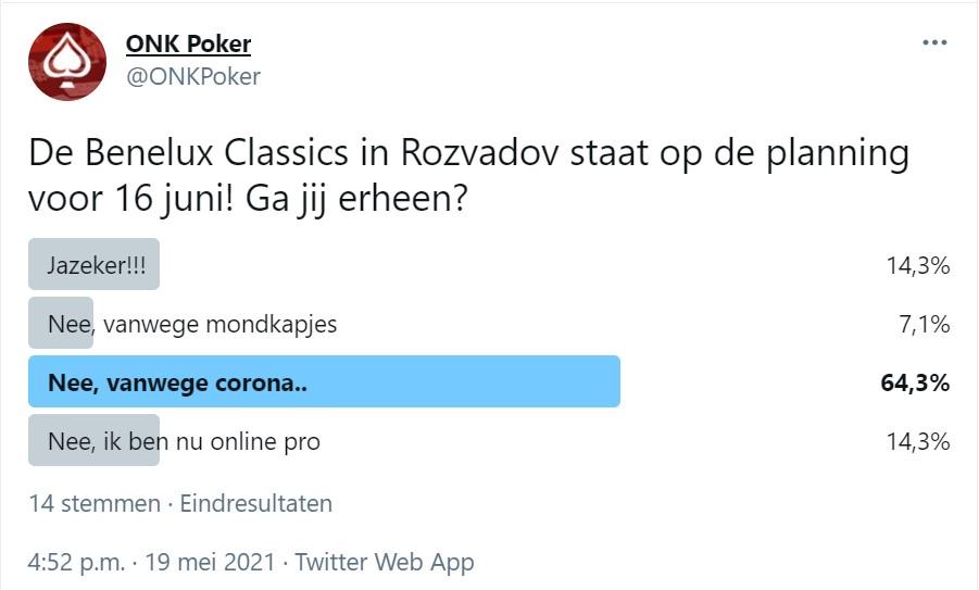 Benelux Classics ONK Poker