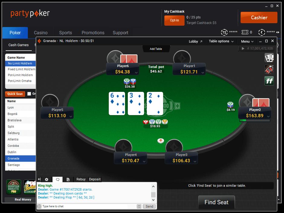 Online Poker Gratis