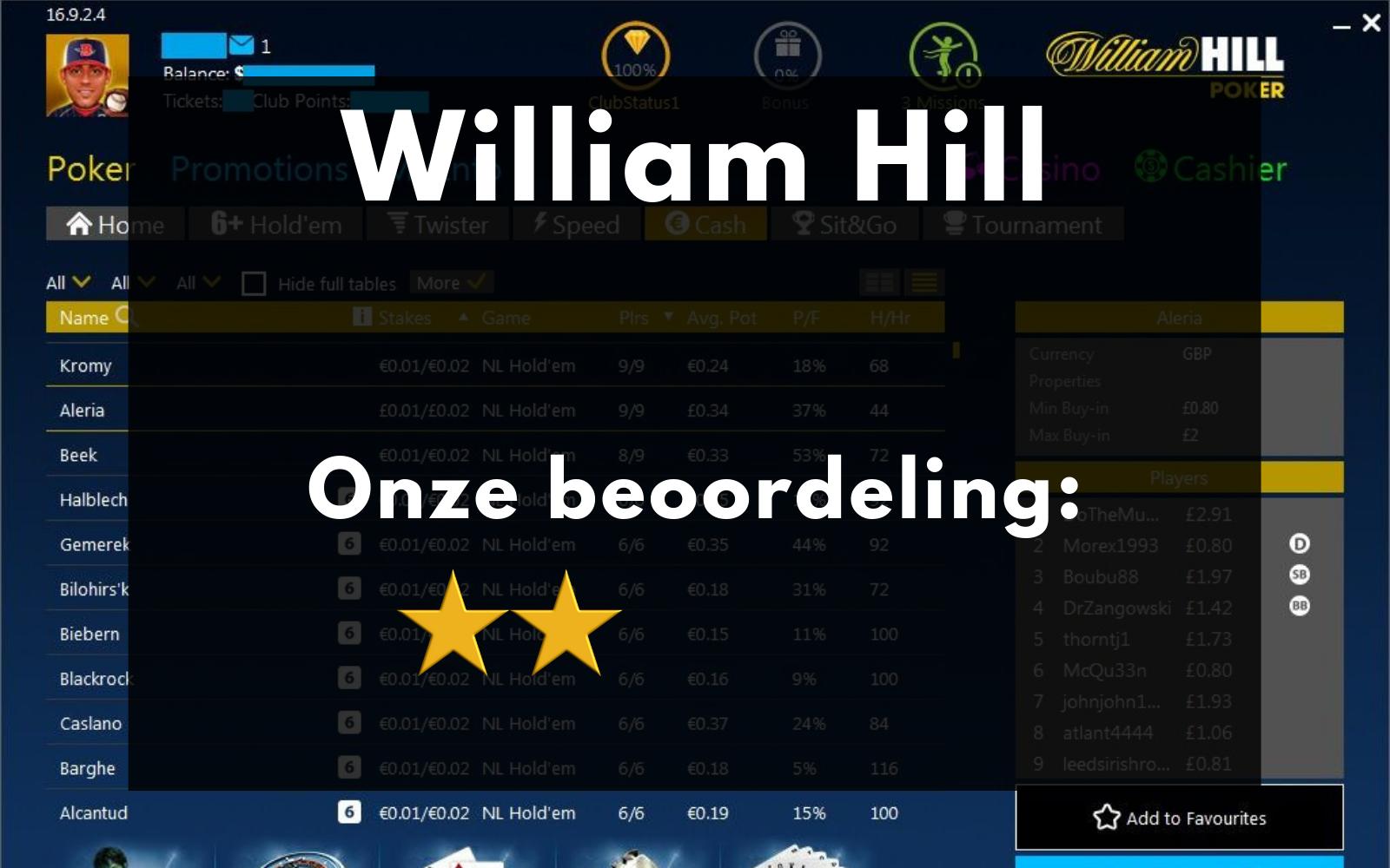 William Hill Nederland