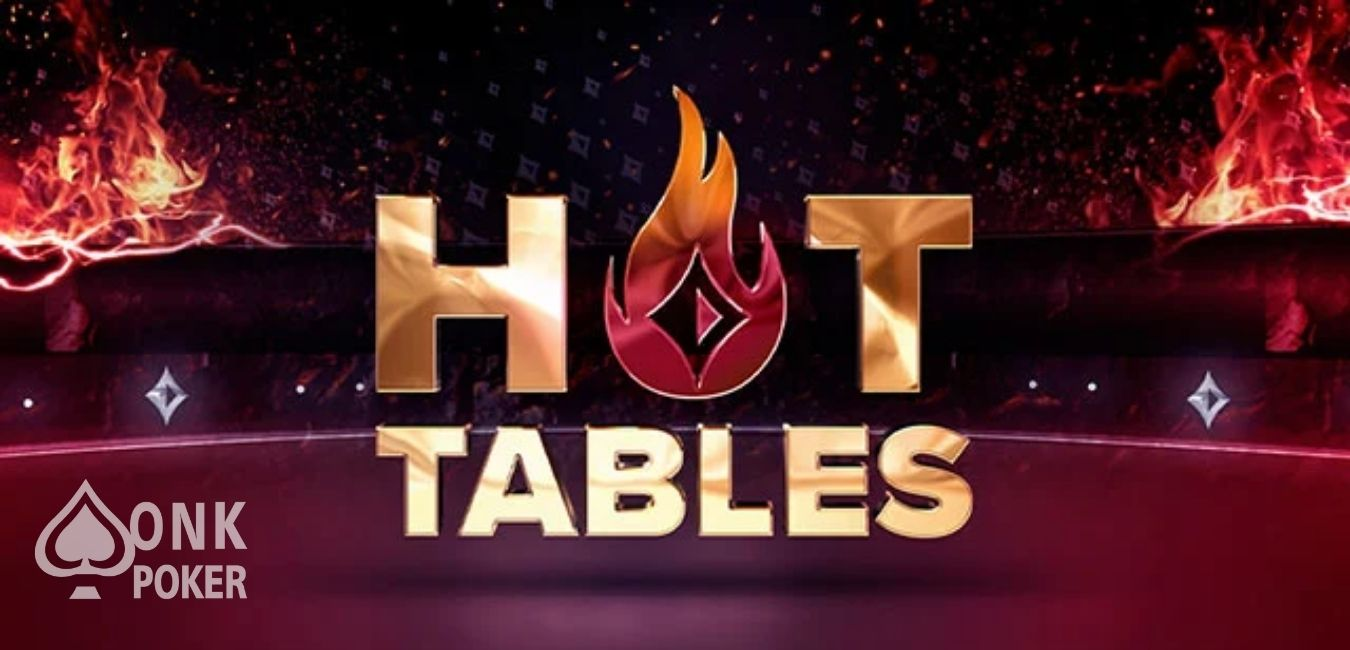 Partypoker lanceert Hot Tables!